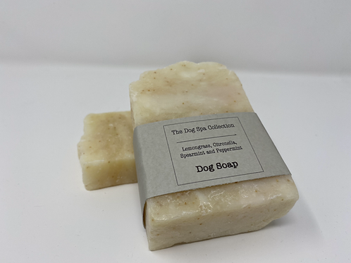 Lemongrass, Spearmint, Citronella and Peppermint Dog Soap