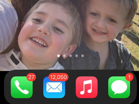 5 years of emails gone....
