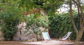 Petite terrasse de repos