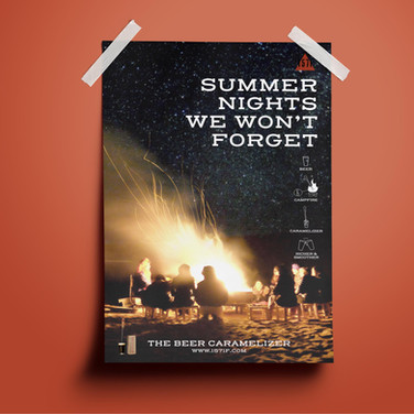 1571F Sumer Nights Poster