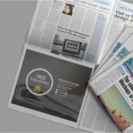 Mezi Newspaper Ad