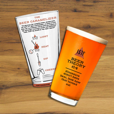 Beer Shaped Postcards