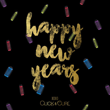 Click n Curl New Years Post