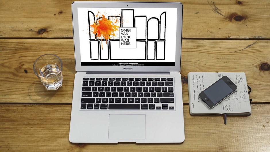 Van Eyck Gin website