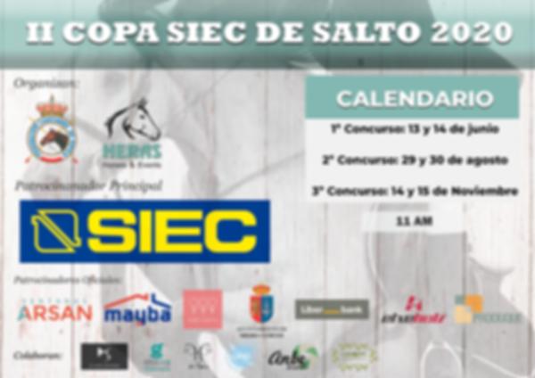 Cartel II Copa SIEC 2020_general_hor_def