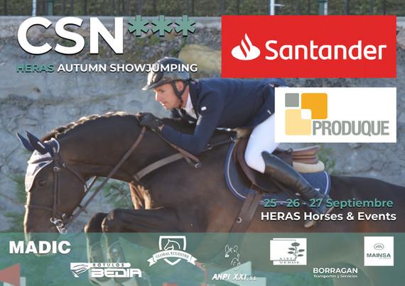 Cartel CSN3 25-27 Septiembre_HERAS Horse