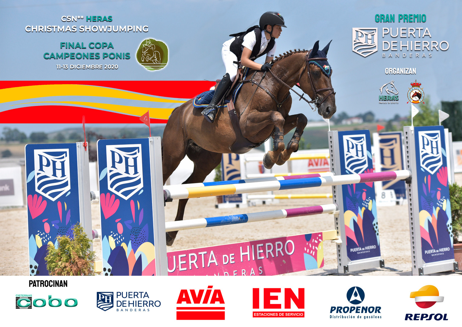 Cartel CSN2 HERAS CHRISTMAS SHOWJUMPING_
