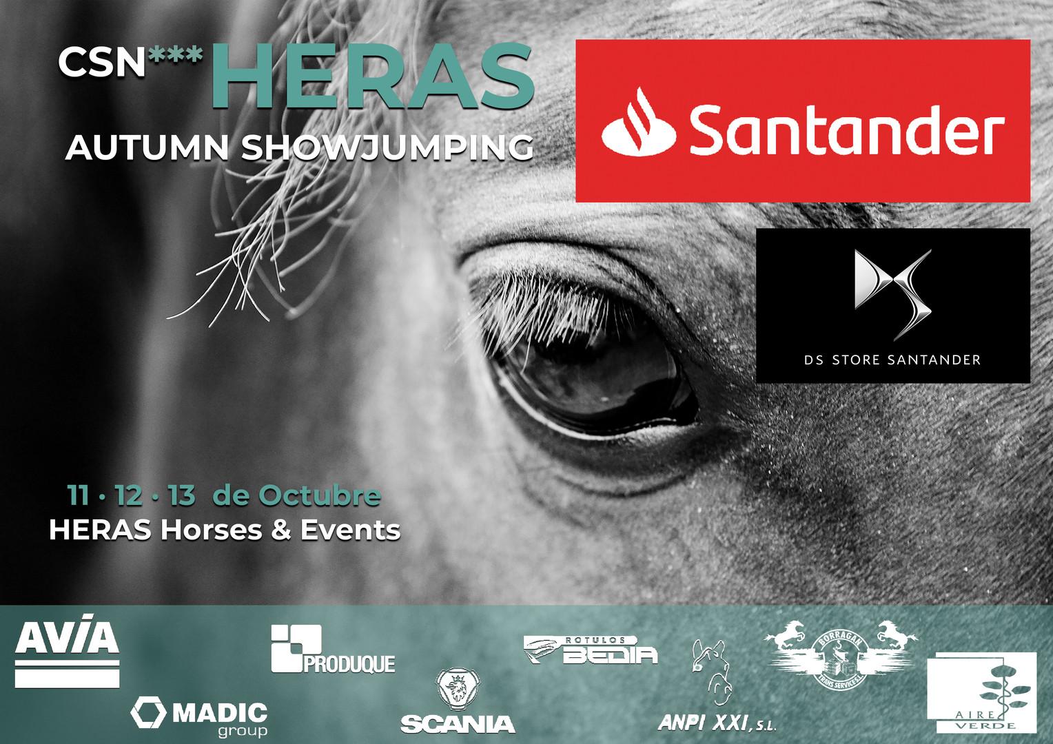 Cartel CSN3 11-13 Octubre_HERAS Horses&E