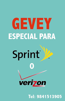 Gevey Card para iphone 4s  iOS 7-6.X INTERNACIONAL