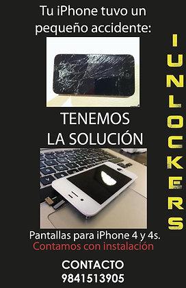 PANTALLA DE REPUESTO IPHONE 4S O 4