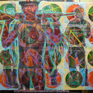 West Papua Painting