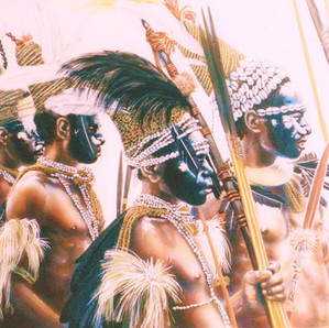 Hewa Group - Enga Province (Private collection)