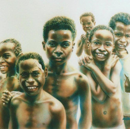 Kutubu kids - SHP (Private collection)