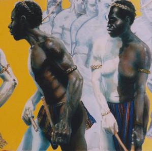 Nokondi Dancers - Simbu / EHP (Private collection)
