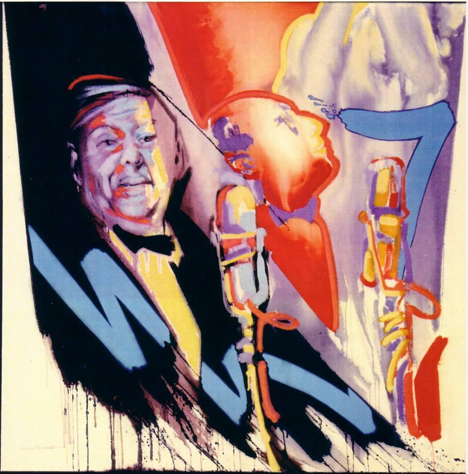 Radio Play - Don Juan in Hell 3 - 121 x 121 cm