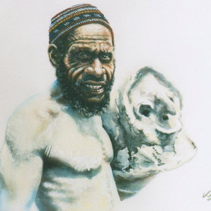 Mud Man - Goroka Show - EHP (Private collection)