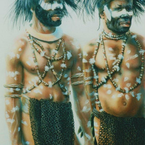 Porgera Dancers - Enga Province (Private collection)