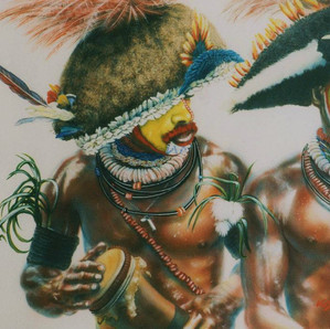 Huli Dancers - Tari - SHP (Private collection)