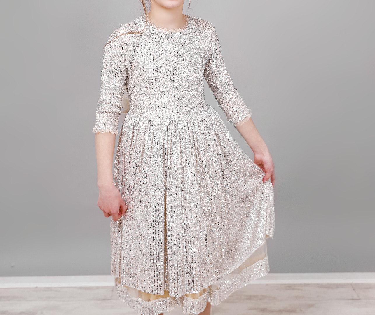 שמלת ערב פייטים מידות 1-5