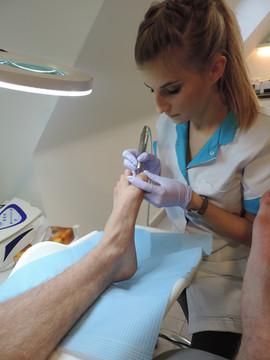 Podologische voetverzorging