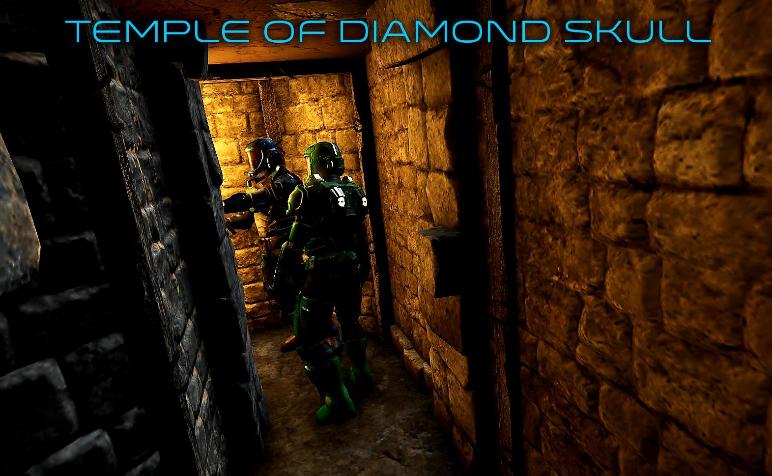 trueVRsystems Diamond Skull01