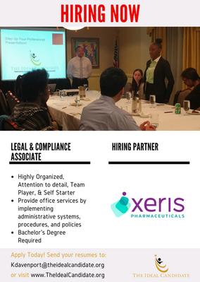 Hiring Now - Xeris Pharmaceuticals. Apply Today!