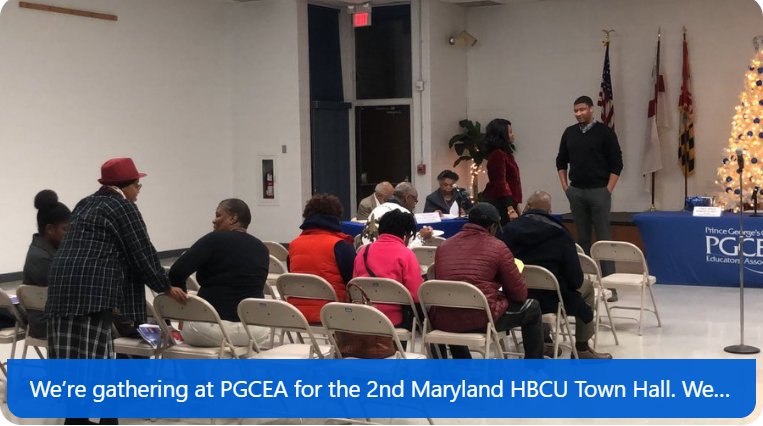 PGCEA MD HBCU Town Hall 1