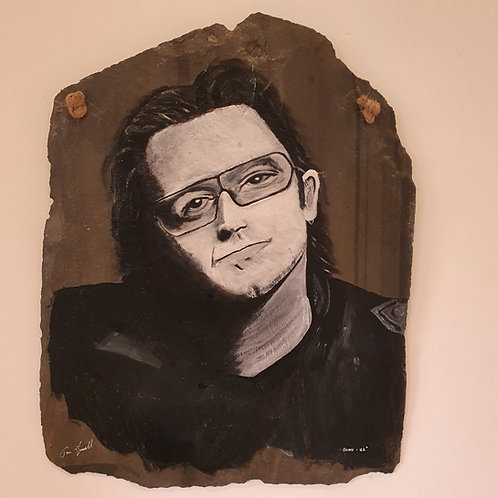 Bono Slate Portrait