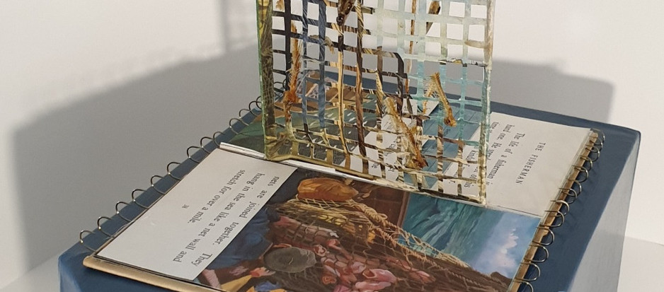 Creative response to 1963 Ladybird book on commercial fishing