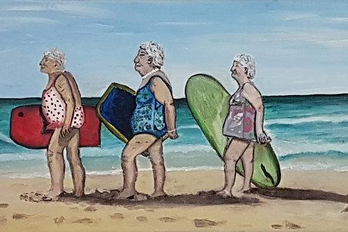 Print - Beach Babes