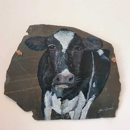 Daisy the Cow - medium slate