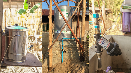 New clean water system