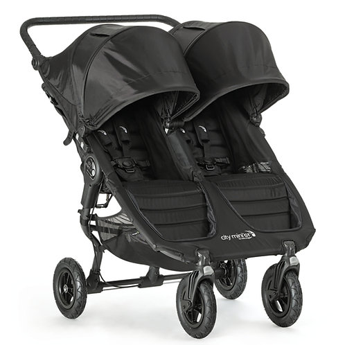 City Mini Double GT (max weight is 50 lbs per seat)