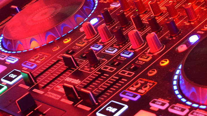 Mischpult DJ Sven Wiggermann
