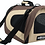 Thumbnail: Deluxe Airline-Approved Pet Carrier, 20in, Brown/Beige