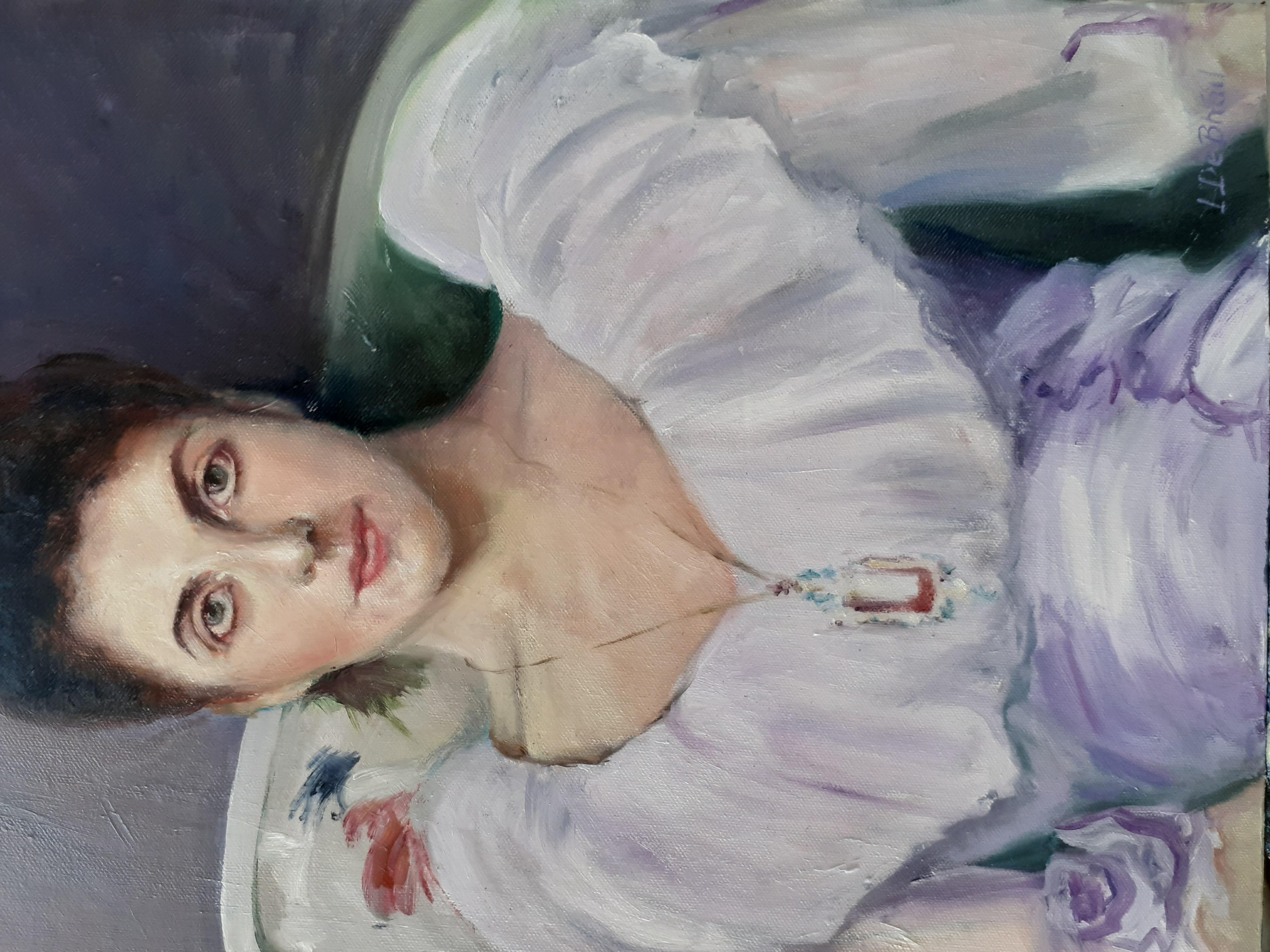 Portrait Two after John Singer Sargent
