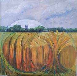 Crops Circles at Tintern Abbey 2