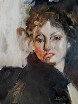 Portrait after Andres Zorn