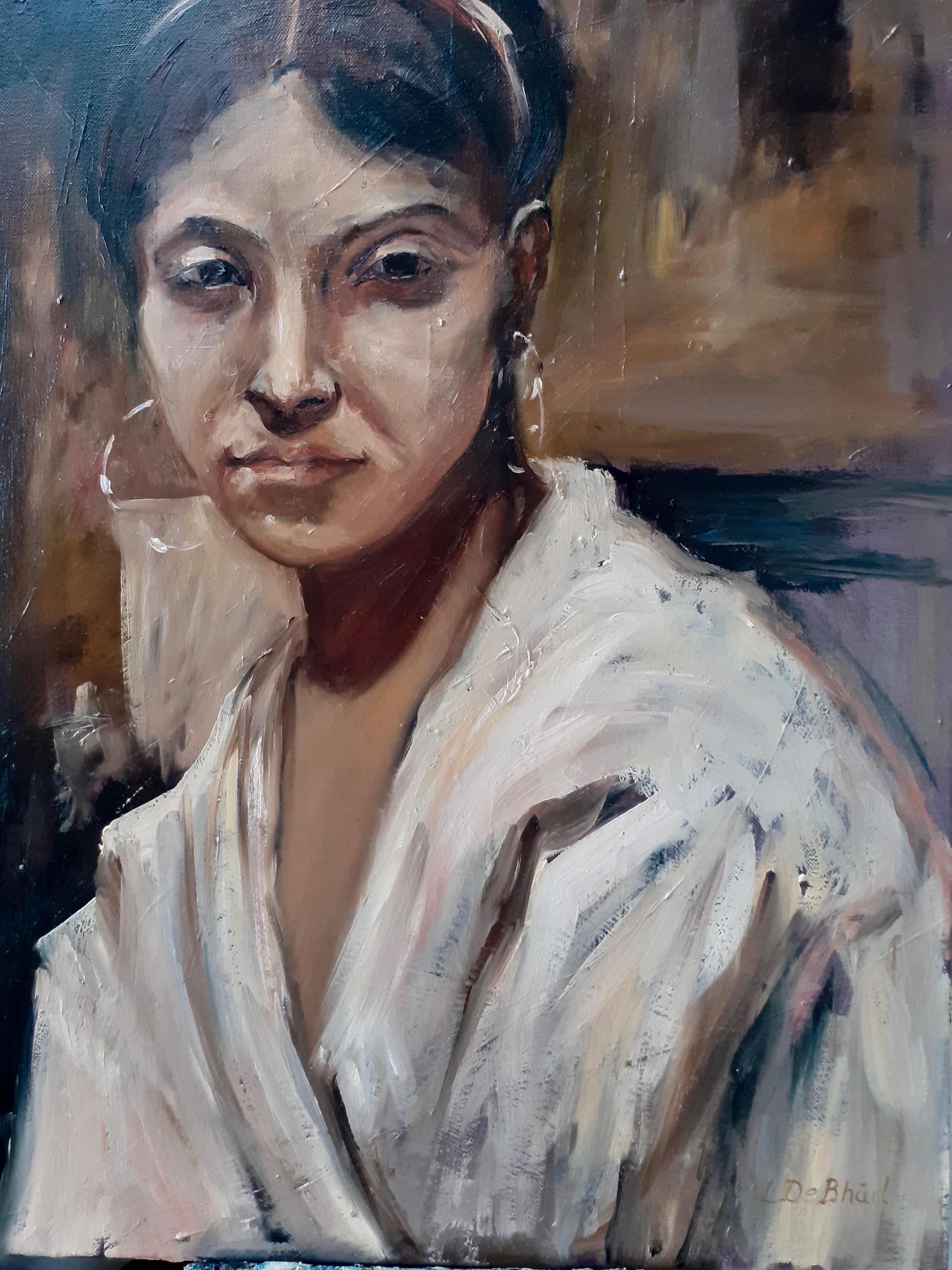 Portrait 1 after John Singer Sargent