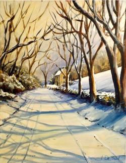 Glen House Winter Afternoon