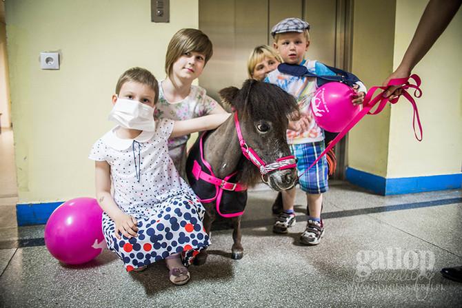 Dzień Dziecka z Bomblem na oddziale szpitalnym!