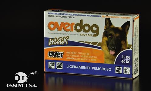 OVERDOG MAX SPOT ON  ( 25-40 KG )