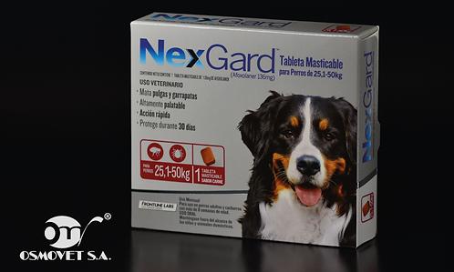 NEXGARD XL  ( 25-50 KG ) ROJO