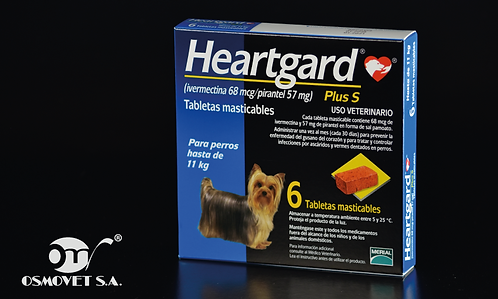 HEARTGARD PLUS S  AZUL