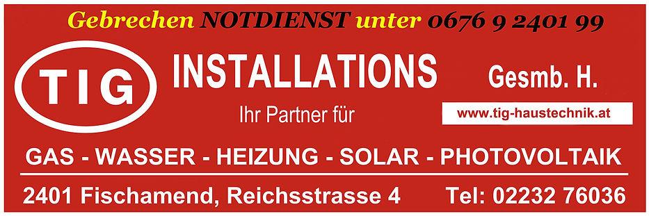 Installateur Notdienst Wien Umgebung