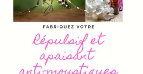 DIY répulsif et apaisant anti-moustiques naturels