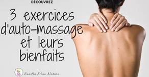 L'auto-massage détente : 3 exercices pour le haut du corps.