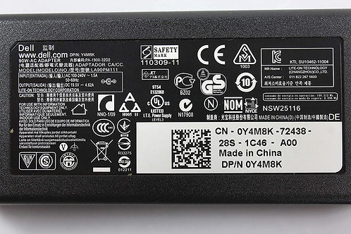 Dell Laptop Adapter ac 90w ( WIthout power cable)