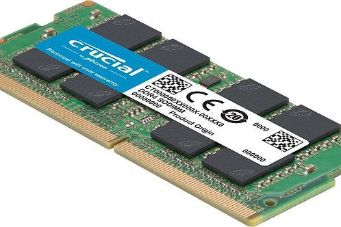 Laptop Crucial RAM 8GB DDR4 2666 MHz CL19 Laptop Memory CT8G4SFRA266
