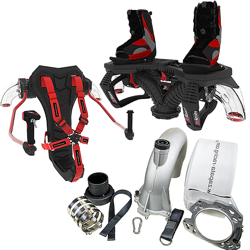 FLYBOARD + JETPACK WITH DUAL SWIVEL SYSTEM